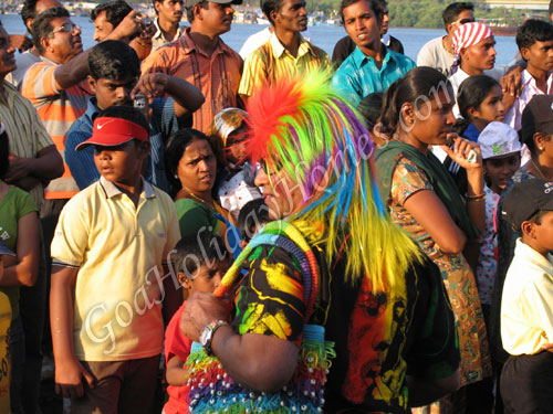 Goans enjoying Carnival