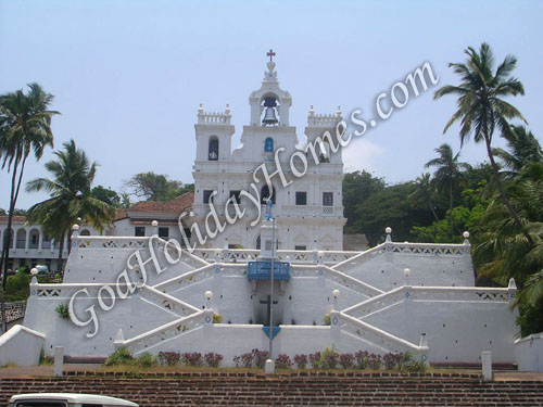 Panjim Church in Goa