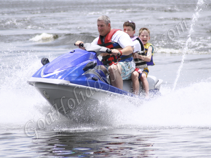 Jet Skiing in Goa in Goa