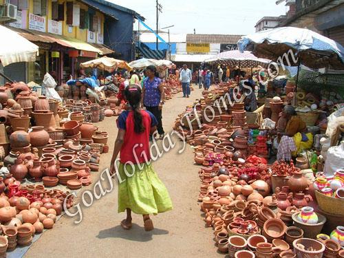 Mapusa in Goa