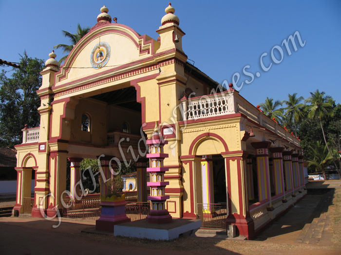 Shri Morjai temple in Goa