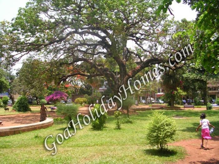 The Municipal Gardens in Goa