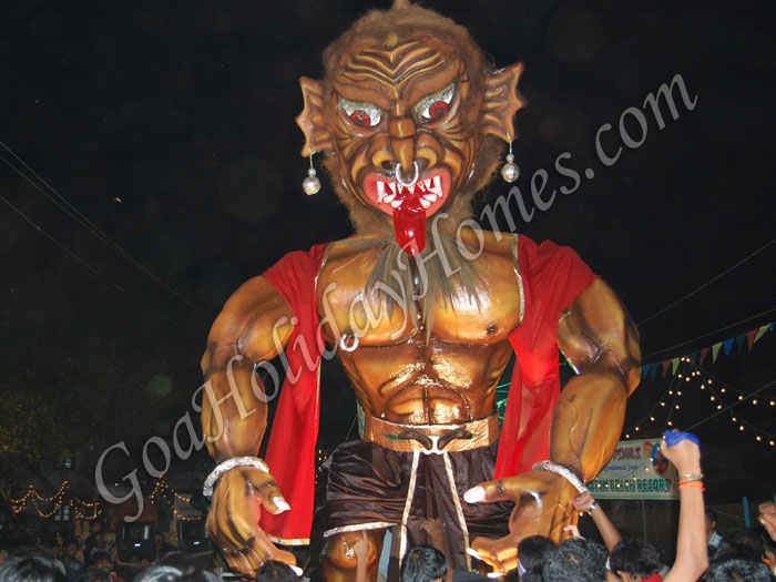 Narka Chaturdashi celebrations in Goa in Goa