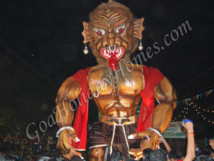 Narka Chaturdashi celebrations in Goa in Goa