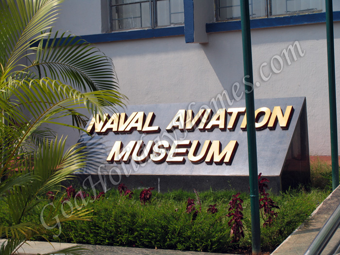 Naval Aviation Museum in Goa