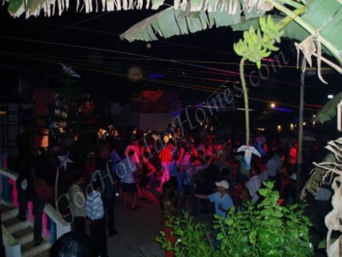 Night parties in Goa in Goa