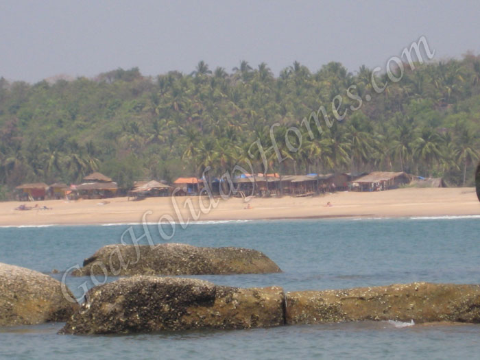 palolem beach in goa also known as paradise beach goa