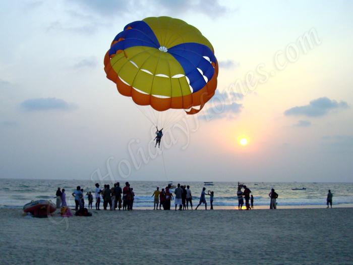 Parasailing in Goa in Goa