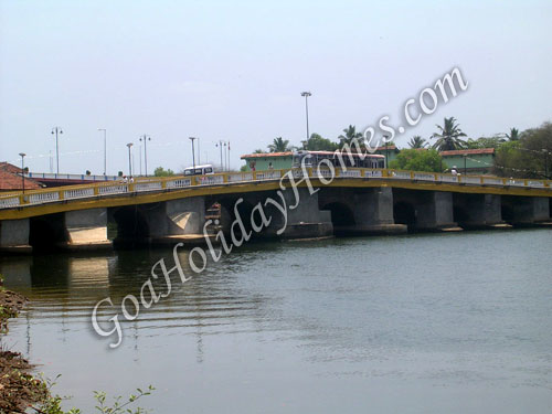 Patto Bridge in Goa