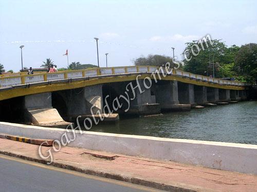 View From Panaji Bridge