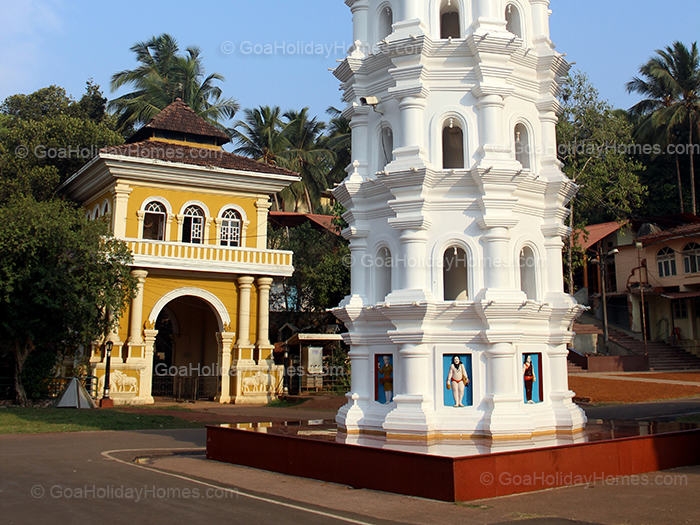 The Ramnath Temple at Bandode in Goa