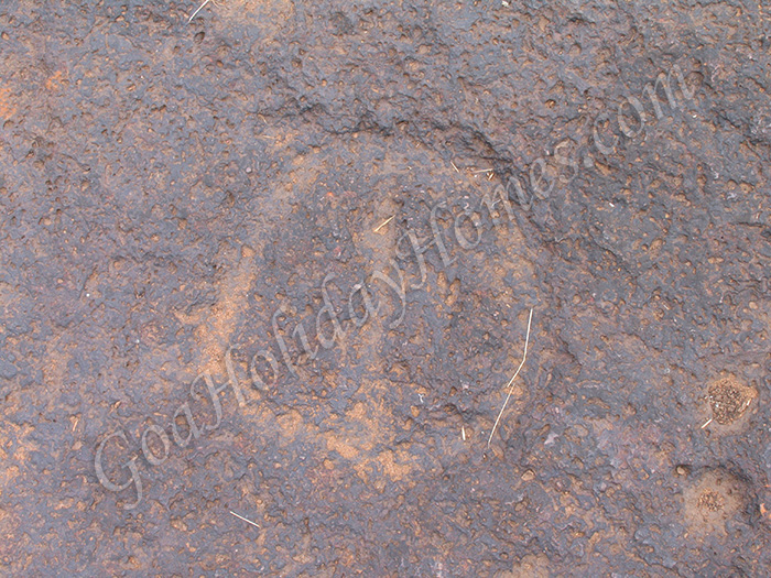 Usgalimal rock carvings in goa about at