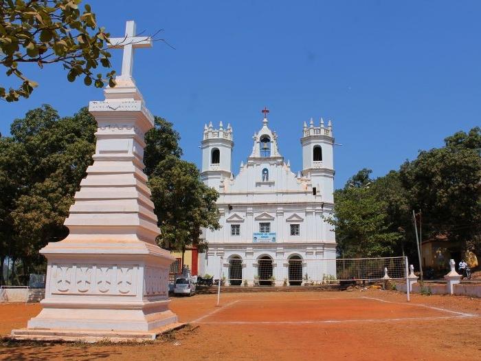 Salvador Do Mundo Church in Goa