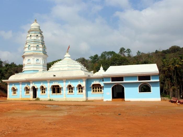 Shri Gomanteshwar Devasthan at Brahmapur in Goa