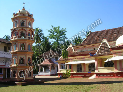 Shri Naguesh Temple in Goa