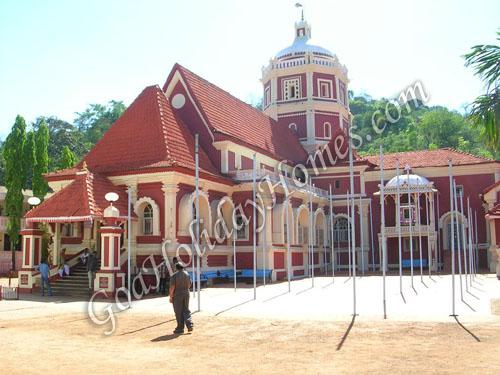 Shri  Shantadurga Temple -Kavalem in Goa