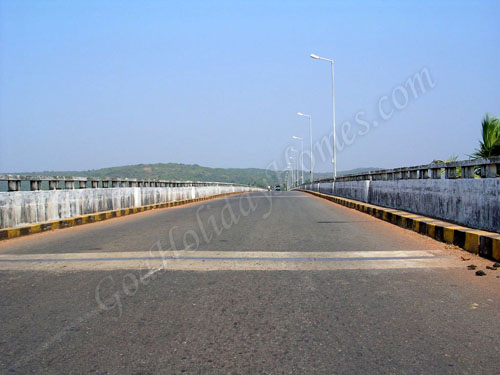 Siolim Bridge in Goa