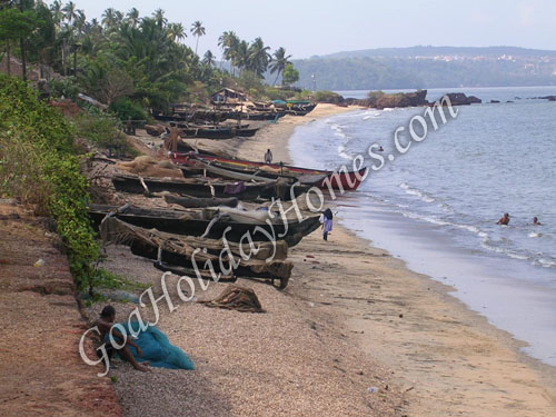 Siridao Beach in Goa