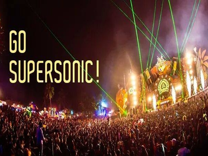 Supersonic in Goa in Goa