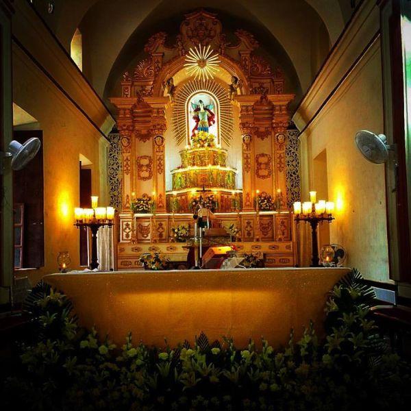 St.Michael\'s Church Anjuna in Goa