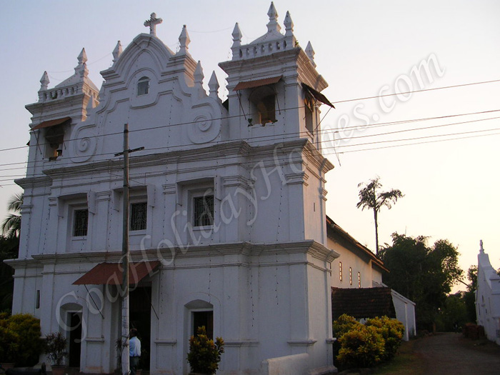 St Clara\'s Church at Assonora in Goa