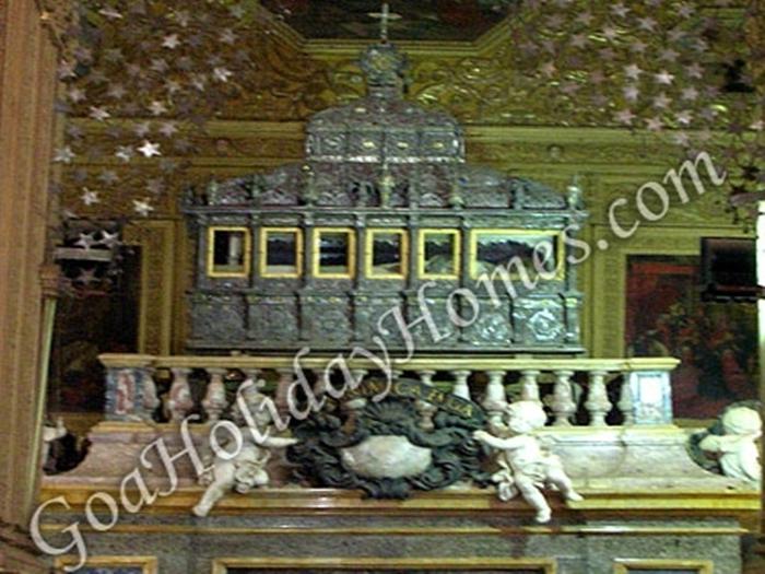 St Francis Xavier in Goa