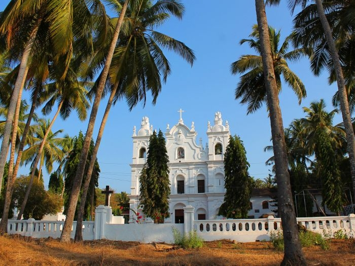 St.Michael\'s Church Anjuna in Goa