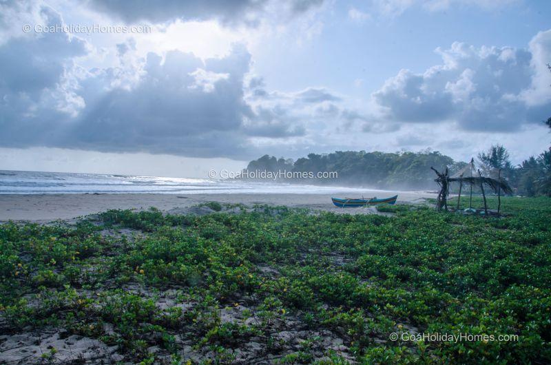 Talpona Beach in Goa