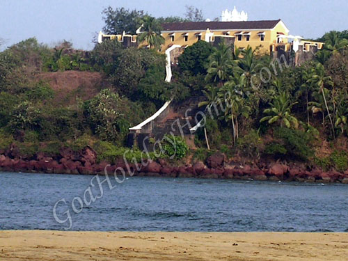 Tiracol Fort in Goa