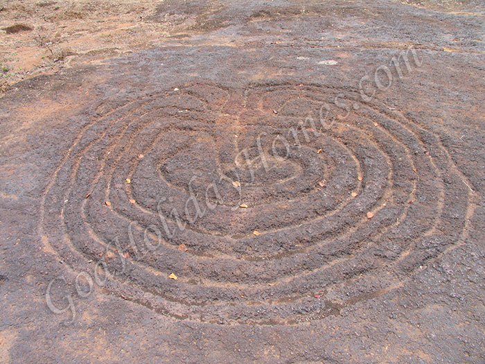 Usgalimal Rock Carvings in Goa
