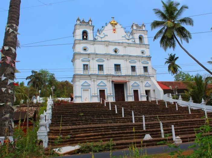 Verem Three Kings Church in Goa