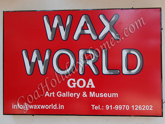 Wax World Museum in Goa