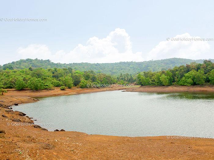 Amthane Dam in Goa