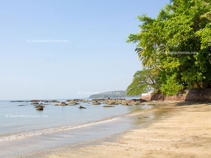 Bambolim Beach in Goa