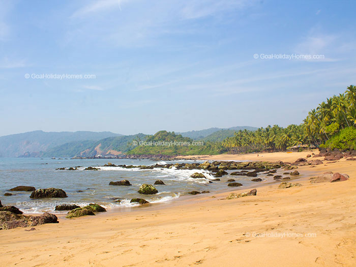 Dharvalem Beach in Goa