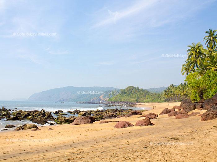 Dharvalem Beach in Goa