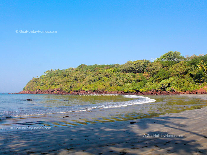 Dias beach in Goa