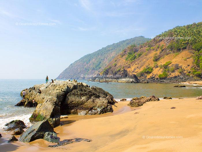 Kakolem Beach in Goa