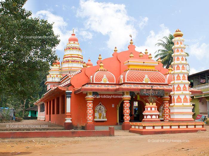 Shri Mahadev Bhumika temple in Goa