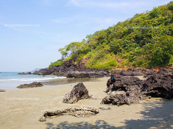 Nuem beach in Goa
