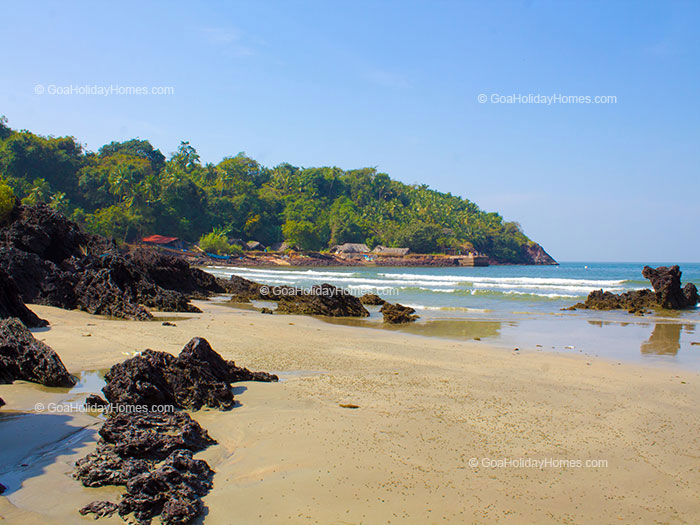 Nuem beach in Goa