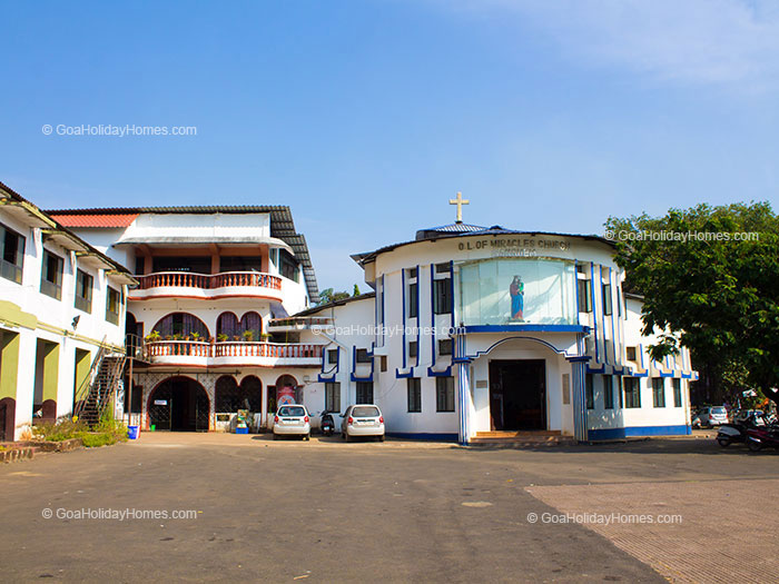 Church of Our Lady of Miracles in Goa
