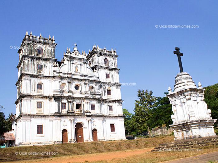 The St. Anne Church in Goa