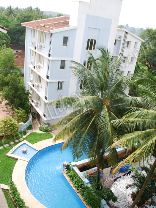 Serviced apartments for rent in calangute apartments in - Guest house in goa with swimming pool ...
