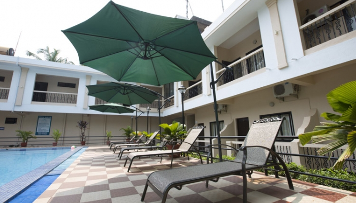 Serenity By The Sea A Quiet Guest House That Is A Two Minute Walk Away From The Famous Candolim