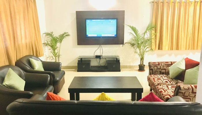 goa beach holidays goa bhk living room   Villa for rent in saligao North Goa, Well furnished villas ...