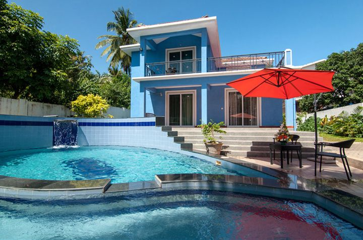 Luxury villa for rent in candolim north goa furnished - Guest house in goa with swimming pool ...