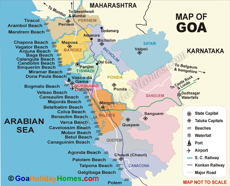 konkan railway route map ...
